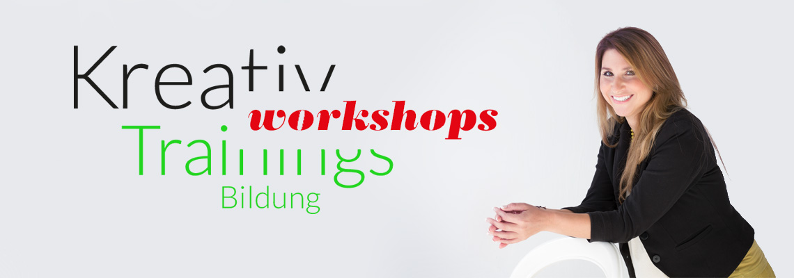 Kreativtraining, Workshops, Trainings, Bildung